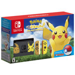 Ensemble Nintendo Switch édition Pokémon Let's Go, Pikachu!