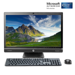 "HP Compaq Elite 8300 23"" All-in-One Business Desktop PC Computer Core i5 3470 4GB 128GBSSD DVD Win 10 Home (Refurbished)"