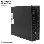 HP EliteDesk 800G1 GAMING SFF,Intel Core I5 4570 3.2G,8G RAM,120G SSD+2TB,GTX 1050 2G,DVD-RW,WIFI,BT4.0,W10(EN/FR)-Refurbished