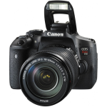 Canon EOS Rebel T6i/750d DSLR Camera with 18-135mm STM Lens (International Version w/Seller Provided Warranty)