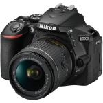 Nikon D5600 DSLR Camera with 18-55mm Lens (International Version w/Seller Provided Warranty)