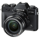 Fujifilm X-T20 Mirrorless Digital Camera with 18-55mm Lens (Black) (International Version w/Seller Provided Warranty)