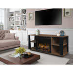 "Dimplex Arlo 55"" Electric Fireplace TV Stand (GDS26L8-1918TW) - Walnut"