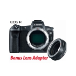 Canon EOS R Camera Body with Bonus RF Lens Mount adapter