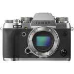 Fujifilm X-T2 Mirrorless Digital Camera (Body Only, Graphite Silver) (International Version w/Seller Provided Warranty)