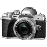 Olympus OM-D E-M10 Mark III Mirrorless Camera with 14-42mm EZ Lens (Silver) (International Version w/Seller Provided Warranty)