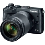 Canon EOS M6 Mirrorless Digital Camera with EF-S 18-150mm IS STM Lens (International Version w/Seller Provided Warranty)