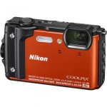 Nikon COOLPIX W300 Digital Camera (Orange) (International Version w/Seller Provided Warranty)