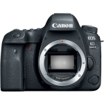 Canon EOS 6D Mark II DSLR Camera (Body Only) (International Version w/Seller Provided Warranty)