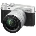 Fujifilm X-A10 Mirrorless Digital Camera with 16-50mm Lens (Silver) (International Version w/Seller Provided Warranty)