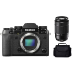 Fujifilm X-T2 Mirrorless Digital Camera with 18-55mm Prime Lens Kit International Version w/Seller Provided Warranty