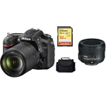 Nikon D7200 DSLR Camera with 18-140mm Prime Lens Kit International Version w/Seller Provided Warranty