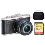 Olympus PEN E-PL8 Micro Four Thirds Camera with 14-42mm Prime Lens Kit International Version w/Seller Provided Warranty