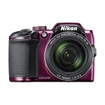 Nikon COOLPIX B500 Digital Camera (Purple) (International Version w/Seller Provided Warranty)