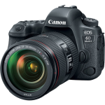 Canon EOS 6D Mark II DSLR Camera with 24-105mm f/4L IS II USM Lens (International Version w/Seller Provided Warranty)