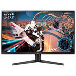 """LG 32"""" WQHD 144Hz 5ms GTG VA LED G-Sync Gaming Monitor (32GK650G-B) - Black"""
