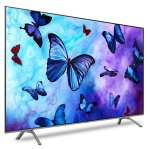 "Samsung 65"" 4K UHD HDR QLED Tizen Smart TV (QN65Q6FNAFXZC) - Eclipse Silver - Open Box"