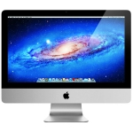 "Apple iMac 21.5"" All in One Computer Intel i5-2400S Quad Core 2.5GHz 16GB 500GB - Silver - MC309LL/A (Refurbished)"