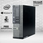 Dell OptiPlex 7010 SFF Desktop Computer i7 3770 12GB 1TB HDD DVD Windows 10 Professional Refurbished