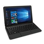 """RCA Cambio 10.1"""" 2-in-1 Touchscreen Tablet PC Intel Quad-Core Processor 2GB RAM 32GB Hard Drive -Black"""