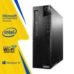 Lenovo ThinkCentre M83 SFF PC Core i7-4770 16GB RAM 256GB SSD DVD Windows10 Professional HDMI WiFi Tecnocanada Refurbished