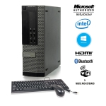 Dell Optiplex 9010 SFF Desktop Computer i5 3470 8GB RAM New 256GB SSD Windows 10 Home Excellent Condition Refurbished