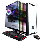 CyberPowerPC Gaming PC - White (AMD Ryzen 7 2700/2TB HDD/240GB SSD/16GB RAM/Radeon RX 580) - English