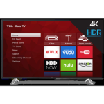 "TCL 55"" Class 4-SERIES 4K UHD HDR ROKU Smart TV - 55S423 - Refurbished"