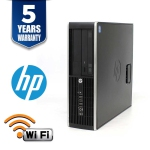 HP ELITE 8300 SFF I5 3470 4GB 500GB DVD/RW WIN10 HOME USB WIFI/ BT 5YR - Refurbished