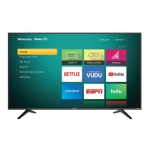 "HISENSE 65"" CLASS 4K ULTRA HD (2160P) HDR ROKU SMART LED TV (65R6E) - REFURBISHED"