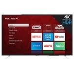 "TCL 50"" CLASS 4-SERIES 4K UHD HDR ROKU SMART TV (50S423) - REFURBISHED"