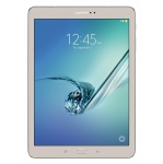 "Samsung Galaxy Tab S2 9.7"" 32GB Android Tablet Gold Wi-Fi SM-T813NZDEXAC, Refurbished"