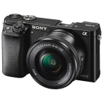 Sony A6000 Mirrorless Camera with 16-50mm Lens Kit - Refurbished