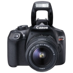Canon EOS Rebel T6 DSLR Camera with EF-S 18-55mm f/3.5-5.6 DC III Lens Kit - Refurbished
