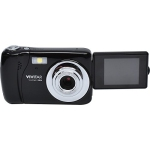 Vivitar VX018 Selfie Cam Digital Camera, Black