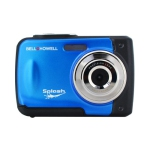 Bell+Howell Splash WP10-BL 16.0 Megapixel Waterproof Digital Camera with 2.4-Inch LCD & HD Video (Blue)