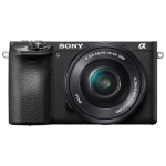 Sony a6500 Mirrorless Digital Camera with 16-50mm Lens Kit - Refurbished