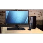 HP Workstation Z210 SFF-Core i5 2400-3.1 GHz-8GB RAM-250GB HDD-Win 7 Pro with 22''MONITOR-Refurbished(Grade A-Excellent cond)
