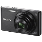Sony DSC-W830 Digital Camera (Black) (Open Box)