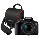 Canon EOS Rebel T7i DSLR Camera with 18-135mm Lens & Camera Bag - Refurbished