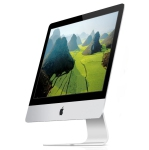 "Apple iMac 21.5"" (2012-2013) (A1418) 2.7 Ghz i5 (3rd Gen) 1 TB HDD 8GB RAM w/ Logitech Keyboard and Mouse - Refurbished"