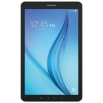 "Samsung Galaxy Tab E 8"" 16GB Android 6.0 LTE Tablet with Helsinki Prime Quad-Core Processor - Black - Refurbished"