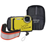 Fujifilm Finepix XP140 Waterproof / Shockproof / Wi-Fi 16.4MP 5x Optical Zoom Digital Camera - Yellow