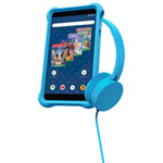 "Disney Kids airBook 7"" 16GB Android 9 GO Tablet With Headphones - Blue - Only at Best Buy"