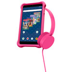 "Disney Kids airBook 7"" 16GB Android 9 GO Tablet With Headphone - Pink - Only at Best Buy"