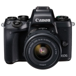 Canon EOS M5 Mirrorless Camera with EF-M 15-45mm f/3.5-6.3 IS STM Lens Kit - Refurbished