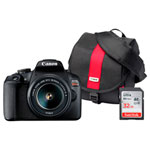 Canon Rebel T7 DSLR Camera with 18-55 Lens, Bag & Memory Card
