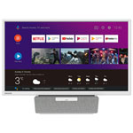 "Philips 24"" 720p LED Android Smart TV (24PFL6704) - White"