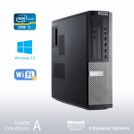 DELL Optiplex 9010 Desktop, Intel Core i7-3770 3.4GHz/ 24GB RAM/ 240GB SSD+500GB/ DVD/ Windows 10 Pro - Refurbished