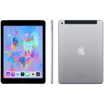 "Apple iPad 9.7"" (6th Generation) 32GB with Wi-Fi/4G LTE - Space Grey - Refurbished"